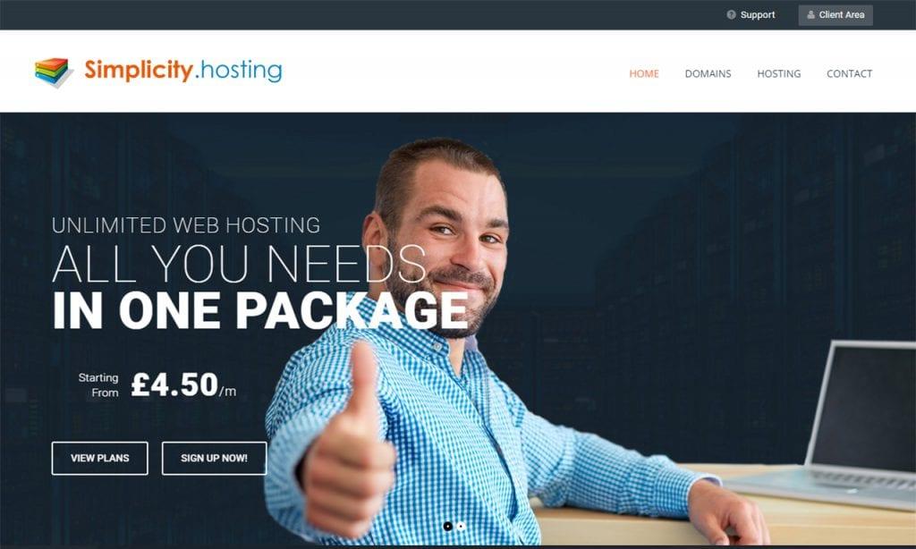 Simplicity.hosting
